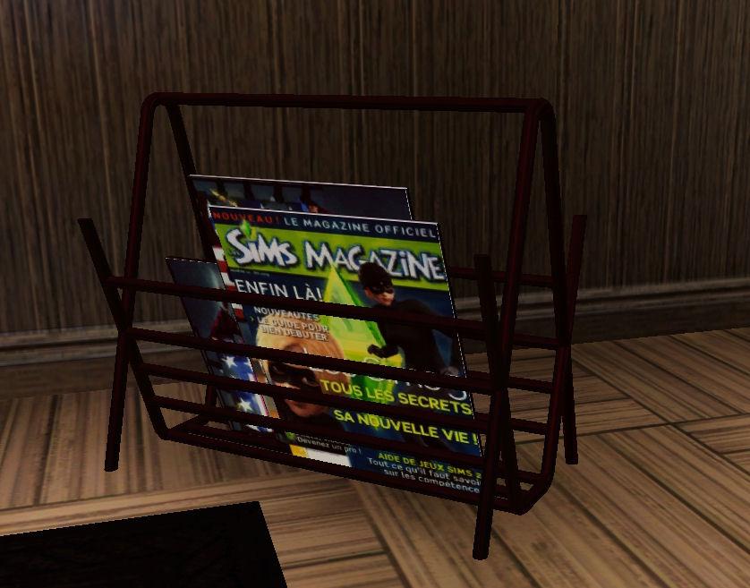 Magazine Rack - Stuff For Sims 3 - photo#18