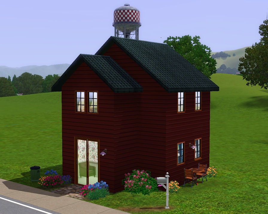 Mini starter 1 10x10 lot stuff for sims 3 for Small starter homes